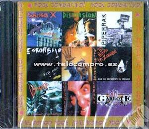 ROCK COMBATIVO: SUBVERSIÓN X; DISTORSIÓN; PIPERRAK; ESKORBUTO; REINCIDENTES EL UKC;VÓMITO;GUER.URB