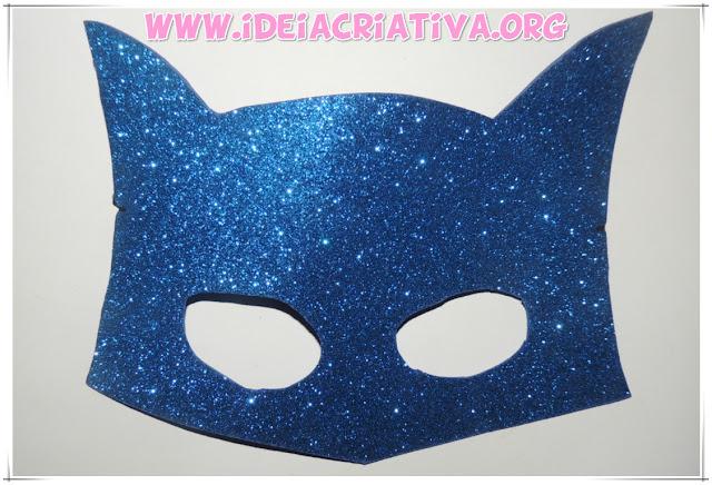 Máscaras Infantis Batman e Borboleta