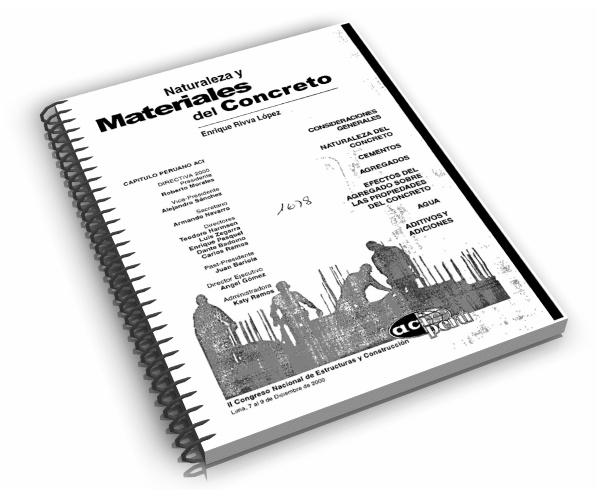Libro Sobre Naturaleza Y Materiales Del Concreto Ing