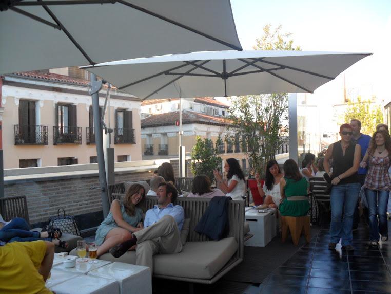 La terraza del Mercado de San Antón