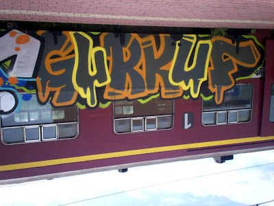 GURKUF graffiti