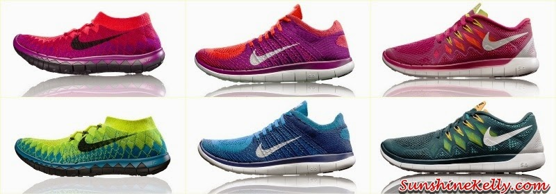 Nike Free 2014 Running Collection, Nike Free Flyknit 3.0 women, Nike Free Flyknit 4.0 women, Nike Free 5.0 women, Nike Free Flyknit 3.0 men, Nike Free Flyknit 4.0 men, Nike Free 5.0 men, Nike Free, running, running collection