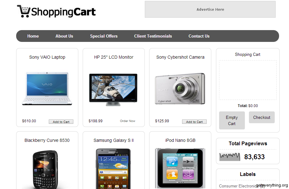 Store Blogger Templates Top 6 Ecommerce Shopping Blogger Templates