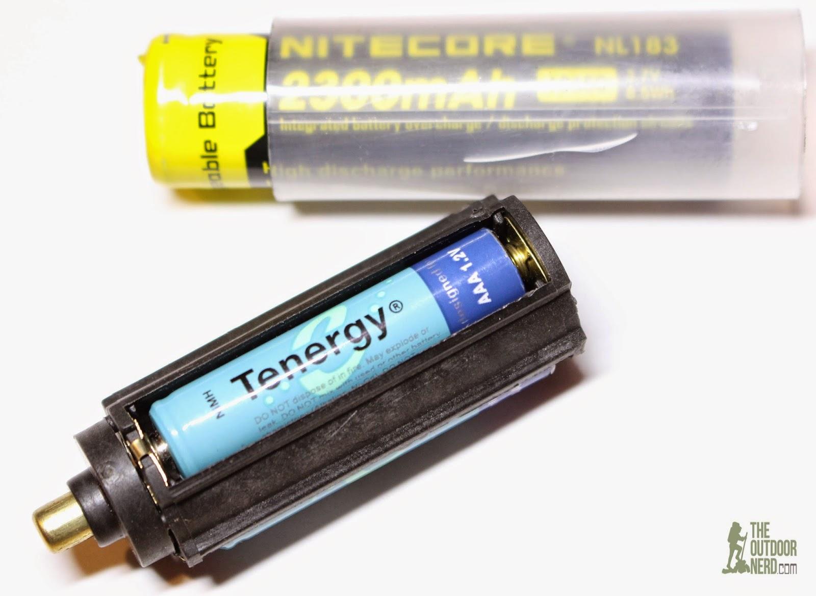 OxyLED MD50 Flashlight Kit - Battery Cradles
