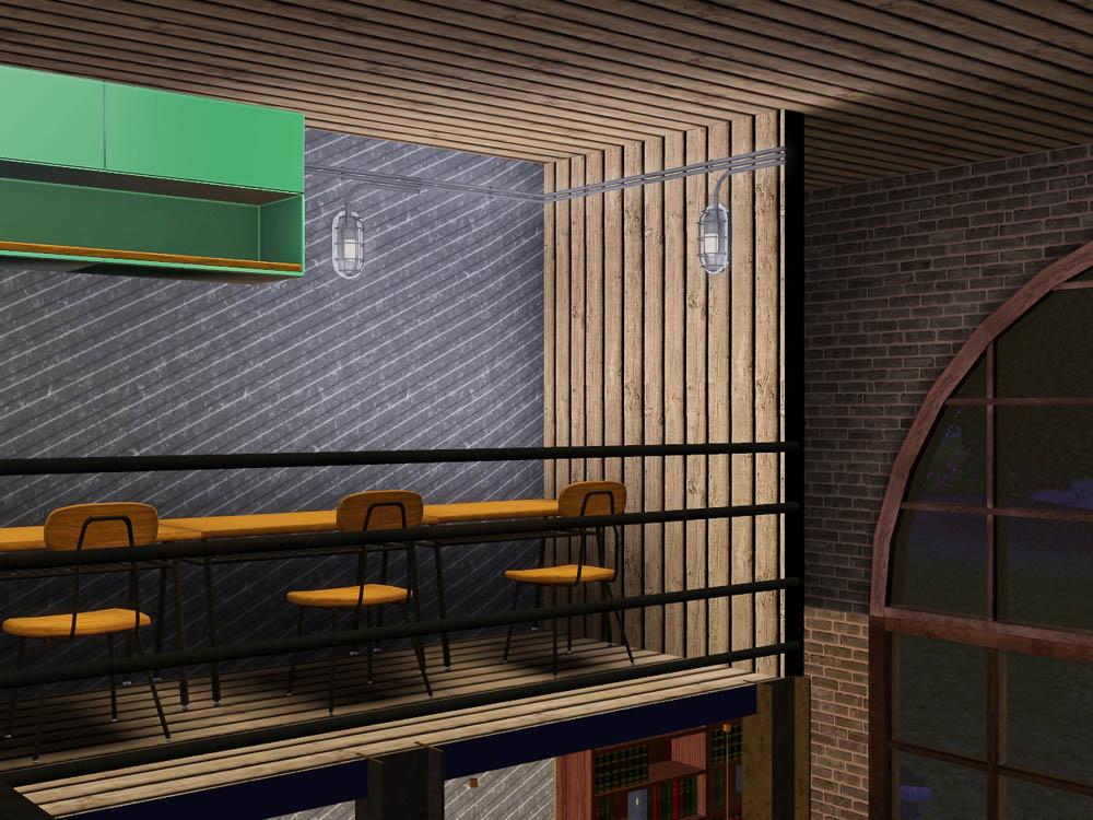 my sims 3 blog cafe le brun by volvenom. Black Bedroom Furniture Sets. Home Design Ideas