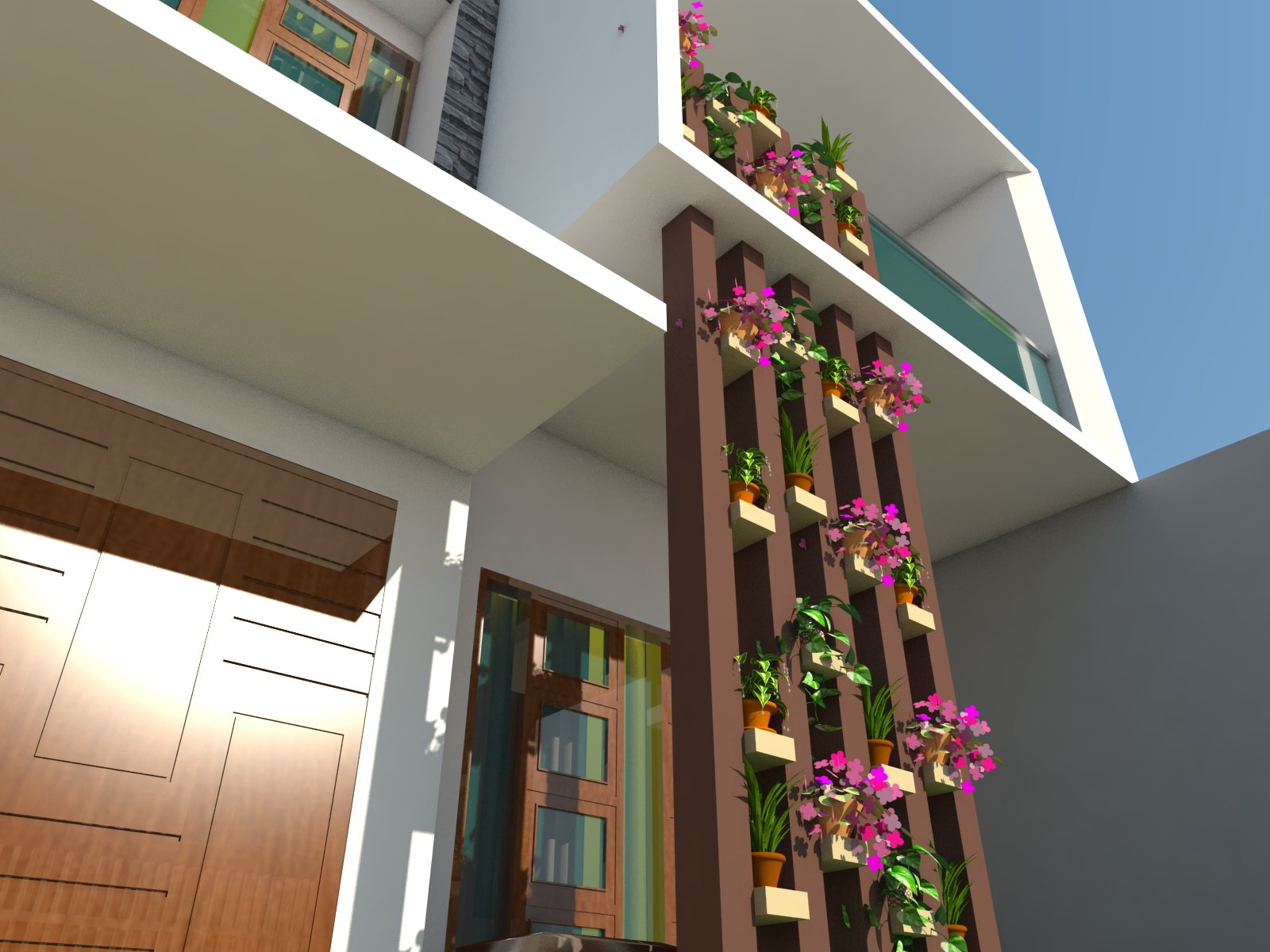Loegoe design architect rumah modern tropis minimalis di for Design interior di jakarta utara
