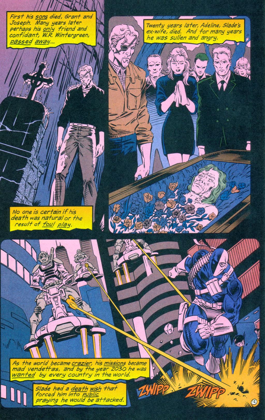 Deathstroke (1991) Annual 3 #3 - English 13