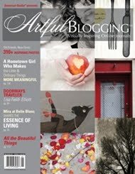 Featured in the Artful Blogging summer issue