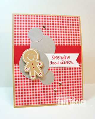 Spreading Good Cheer card-designed by Lori Tecler/Inking Aloud-stamps from Paper Smooches