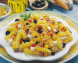 Ensalada de Atun y Macarrones a la Italiana