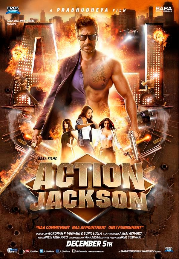 Action Jackson (2014) Poster