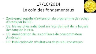 actualités et news économiques et boursières 17/10/2014