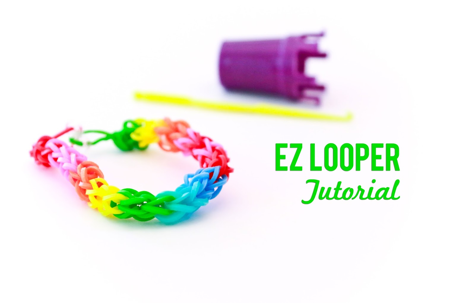 EZ Looper Video Tutorial @craftsavvy @createoften #ezlooper #rubberbandbracelets #loombands #diy #craftwarehouse