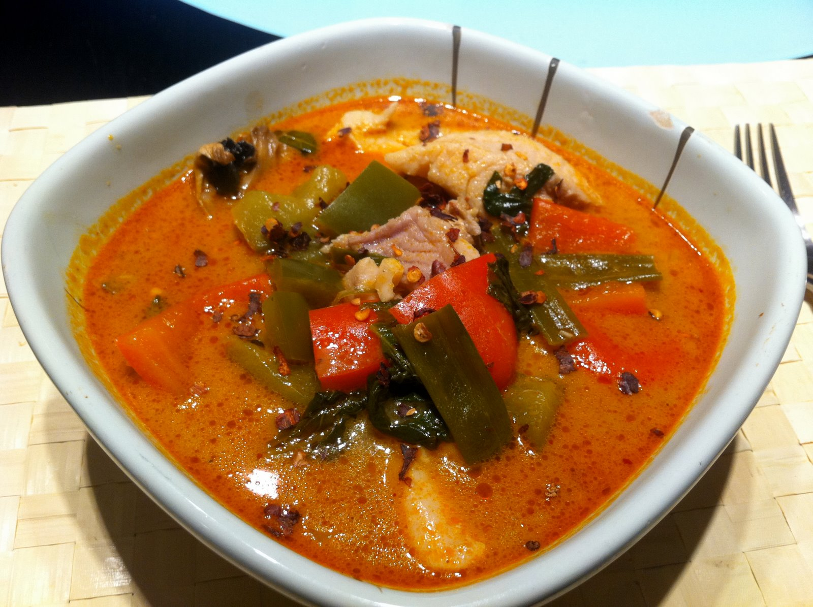 Journey through spice thai fish soup for Thai fish soup