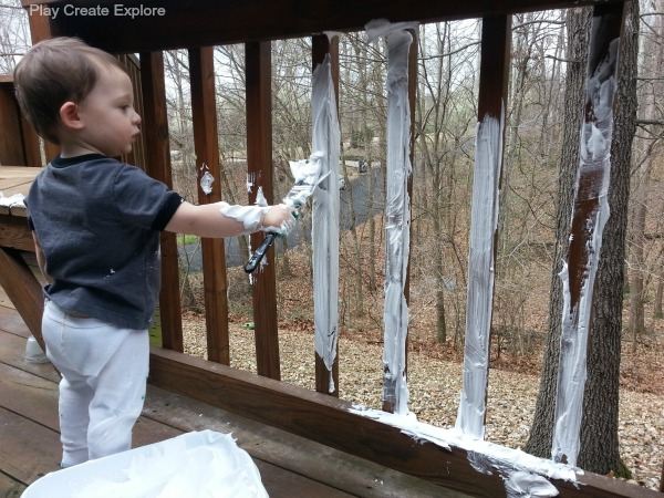 Shaving Cream Activity for Kids