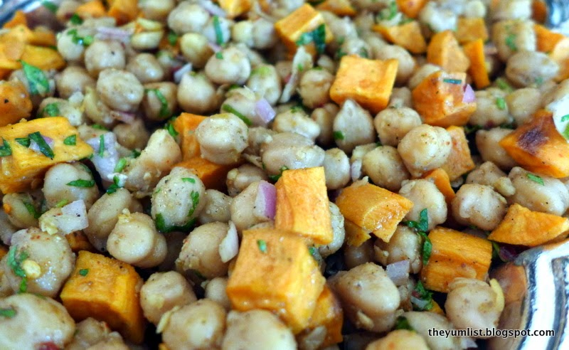 Sweet Potato with Chickpeas and Spices