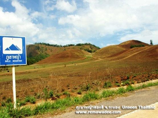 ภูเขาหญ้าสองสีภูเขาหญ้า หรือเขาหัวล้าน
