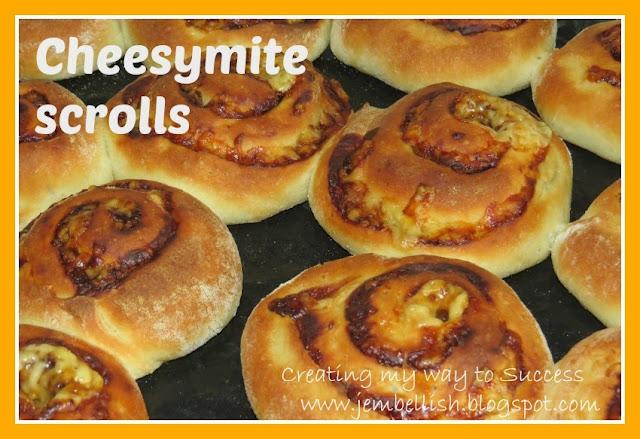 Cheesymite Scrolls