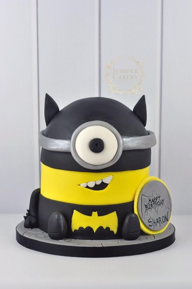 D Minion Cake Template