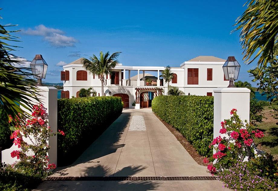 Luxury Life Design Island Views Caribbean Villa