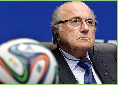 Joseph Blatter oficializó su candidatura a una quinta reelección como presidente de la FIFA