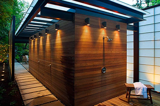 Translucent Wall Design Modern Pool Home Improvement And