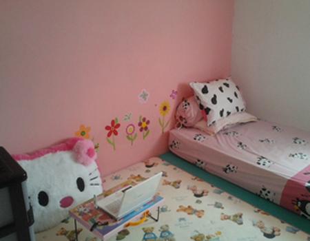 desain kamar tidur kost putri minimalis - desain rumah