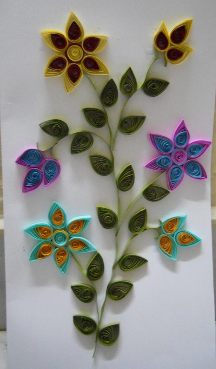Bhuvana's Creative World: Greeting card making