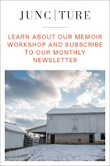 Five-day in person memoir workshops. Monthly memoir newsletter