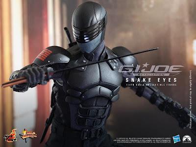 Hot Toys GI Joe Retaliation Movie Snake Eyes