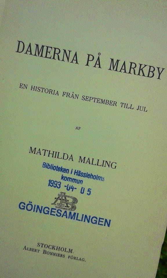 Mathilda Malling, Mathilda Kruse, Stella Kleve, Norra Mellby, Sösdala, Böcker, Kaffe