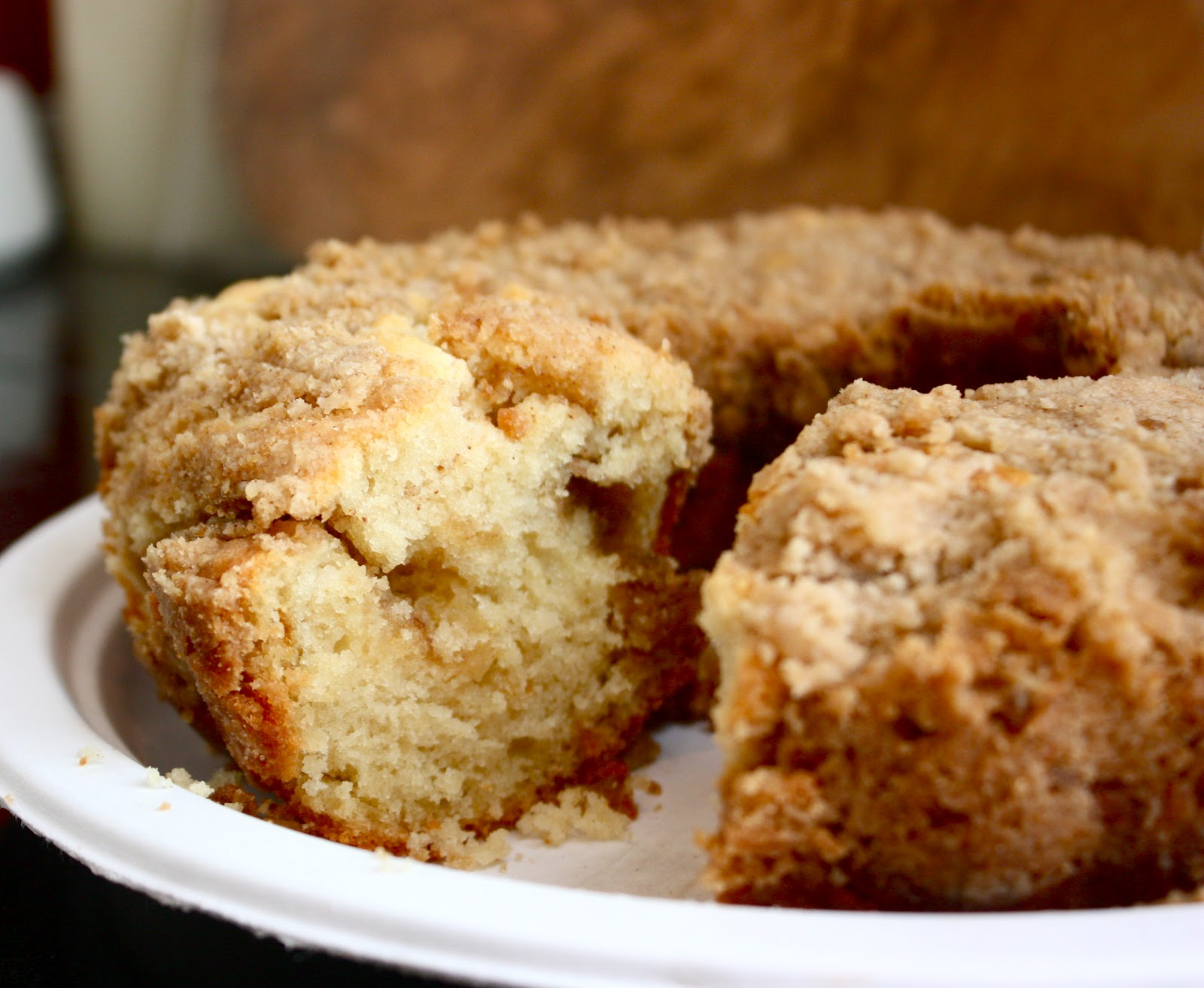 Cannella Vita: best cinnamon coffee cake