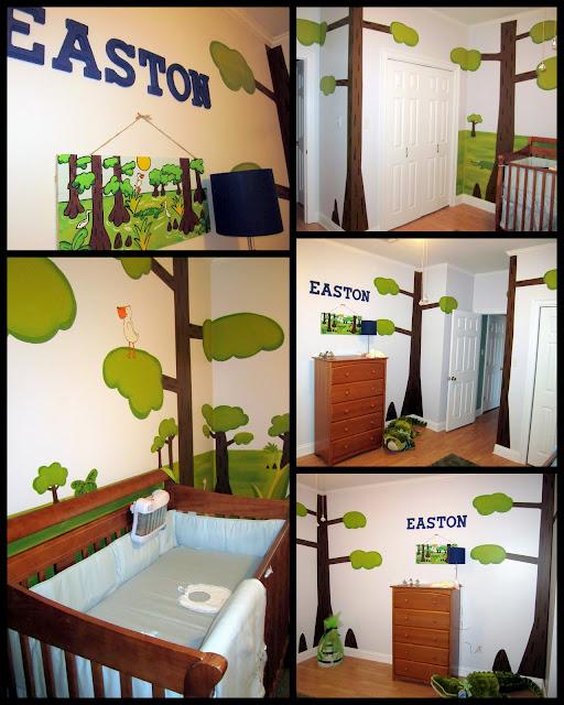 Kidspired creations swamp nursery done for Gator bedroom ideas