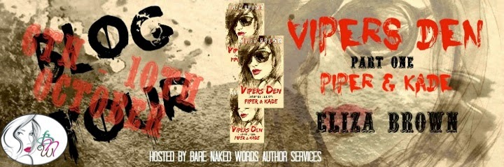 BLOG TOUR: Eliza Brown – Vipers Den