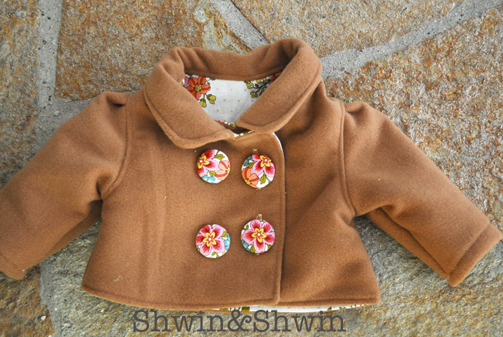 Sew Pretty Sew Free: Sewing Jacket for Infants