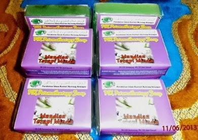 "PIK Aromateraphy Soap ""Mandian Terapi Minda"""