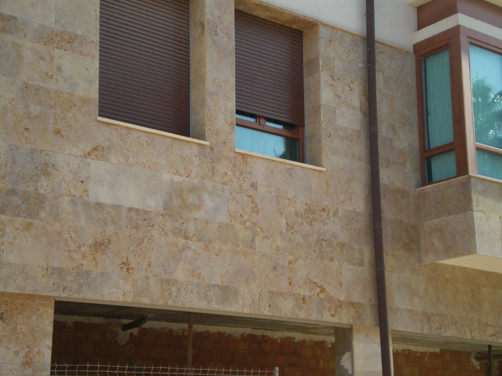Piedra para todos posibilidades y cualidades del m rmol travertino - Precio de piedra para fachada ...