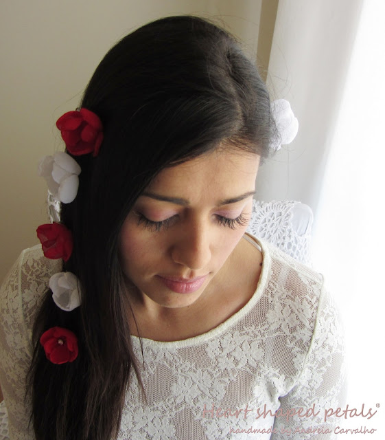casamentos estilo boémio/ flores para cabelo de noiva