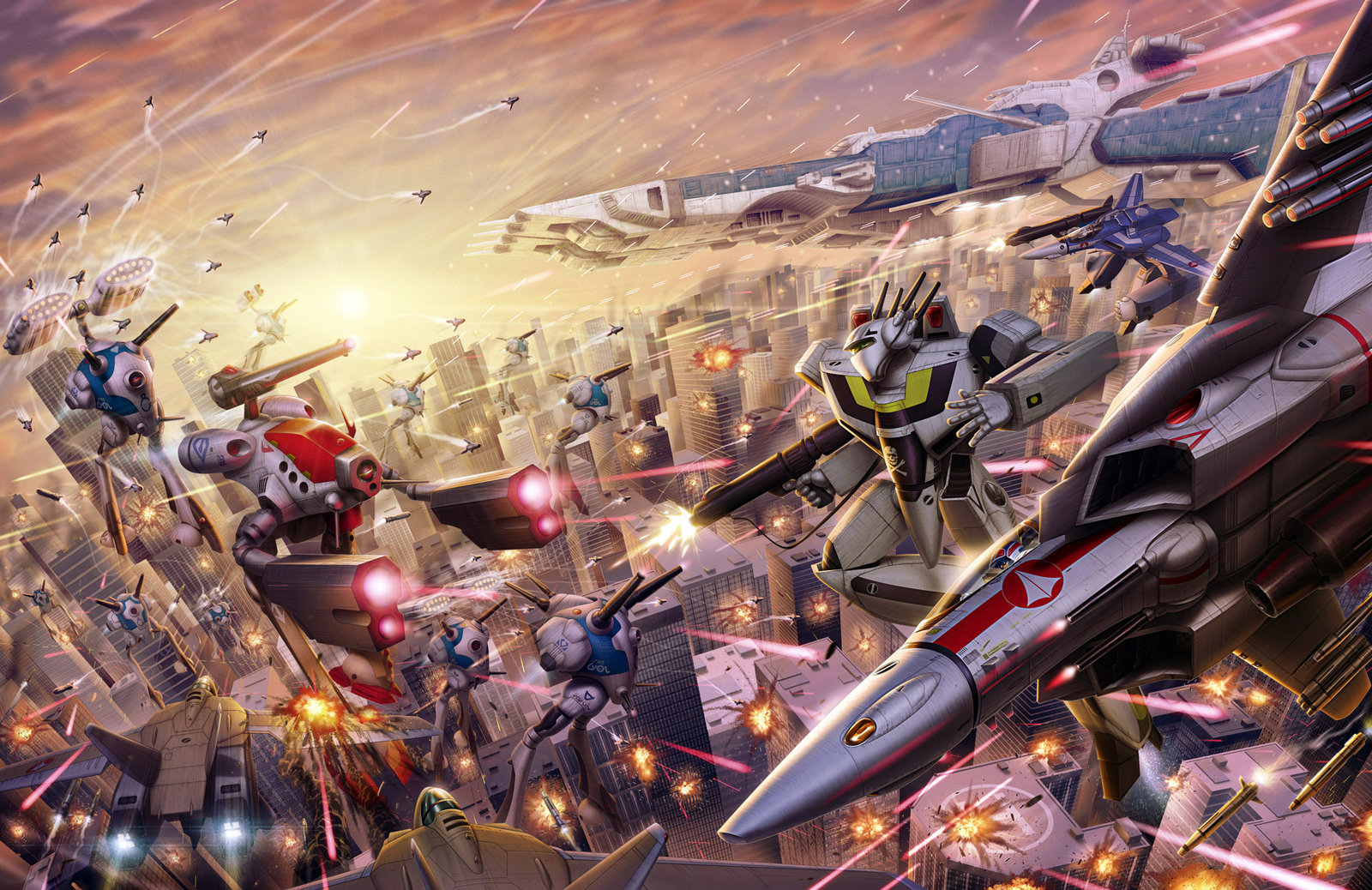 The Wertzone: ROBOTECH live-action movie moving forwards