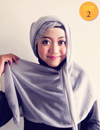 Cara Memakai Jilbab Paris Simple Hanya 1 Menit
