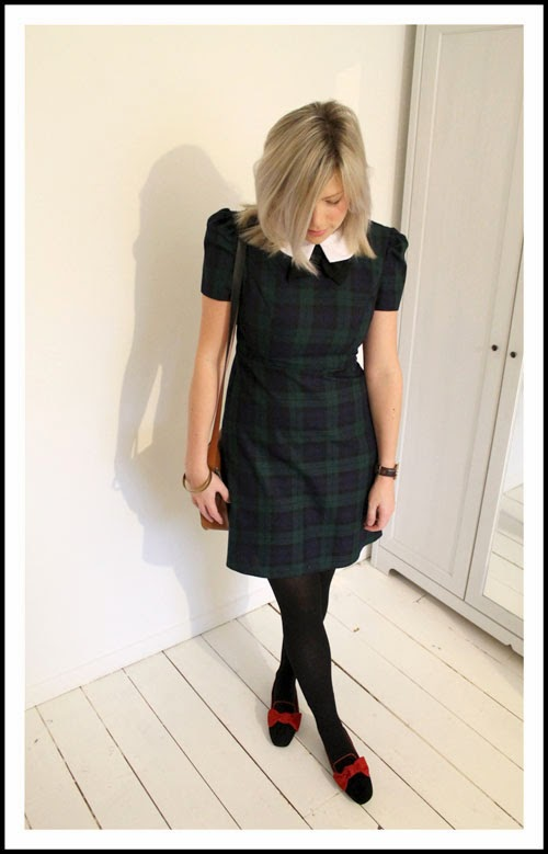 photo of tartan primark dress