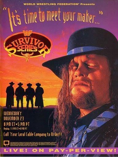 WWF / WWE - Survivor Series 1994: Event poster
