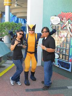Universal Islands of Adventure Wolverine