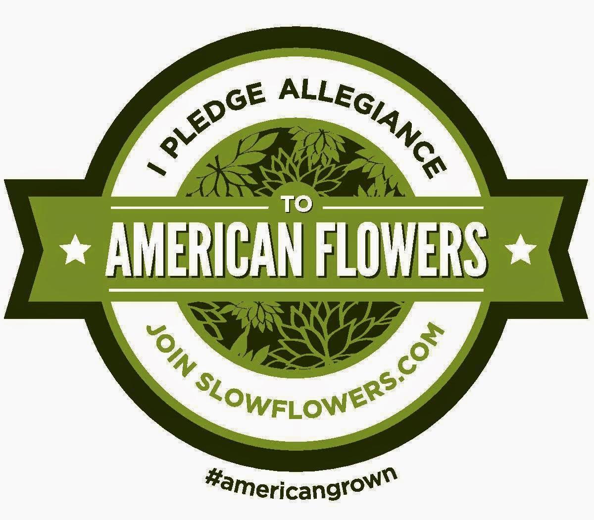 We love local flowers!