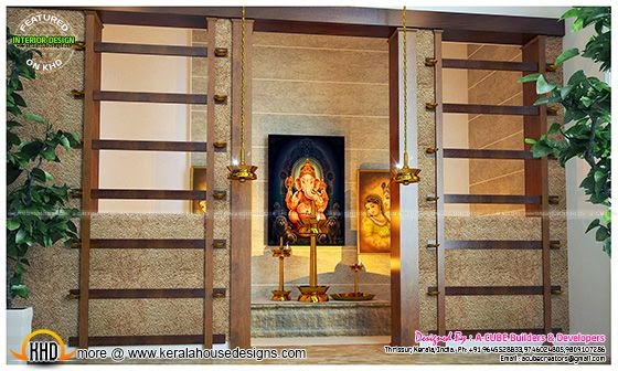 Pooja / Prayer room