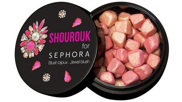 Shourouk para Sephora coleção de maquiagem blush