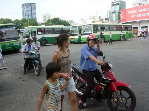ベトナム・ホーチミンシティでひったくりにあう