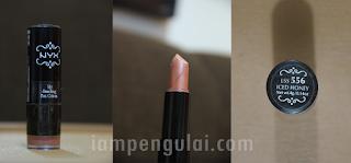 NYX Round Lipstick in Iced Honey