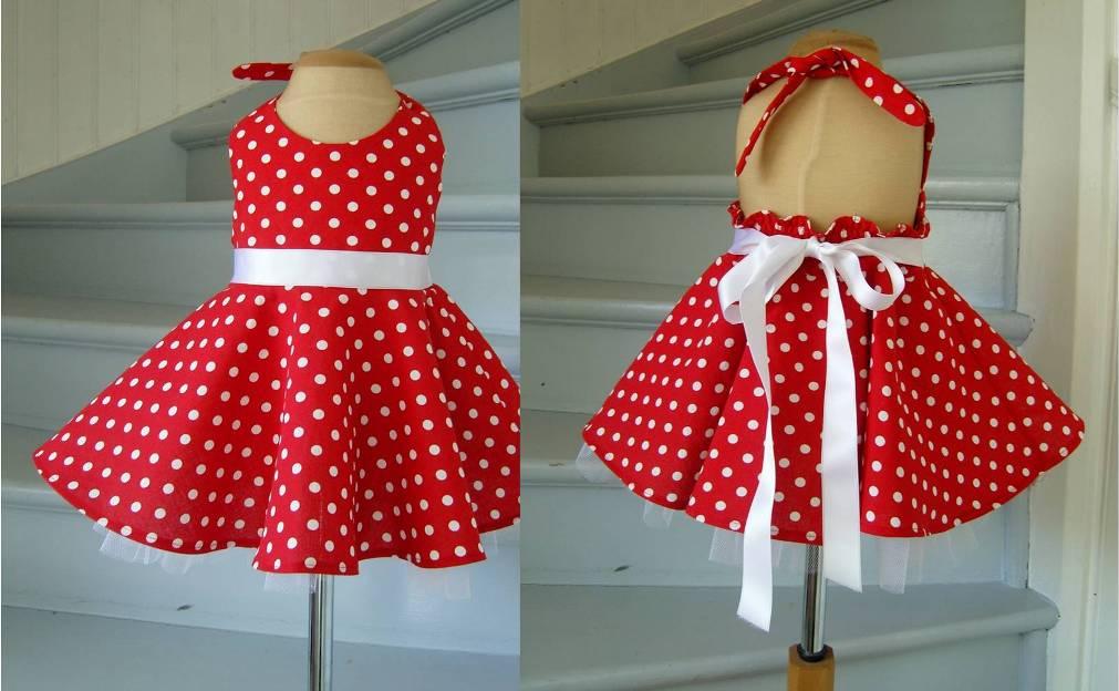 prickig rockabilly klänning