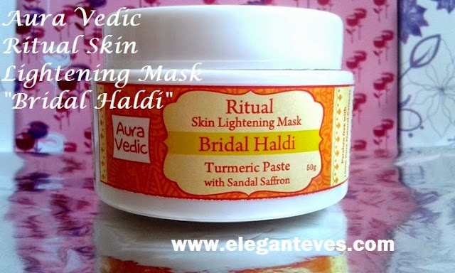 Aura Vedic Ritual Skin Lightening Mask #Bridal Haldi